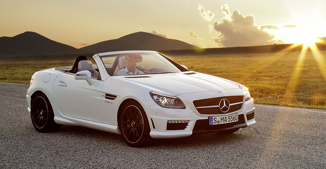 2013 Mercedes-Benz SLK Roadster Review