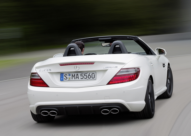 SLK Blind Spot Assist