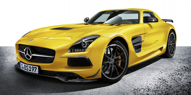 2014 Mercedes-Benz SLS AMG Black Series Gullwing brings fear to the German Autobahn