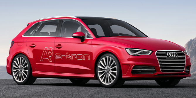 Audi A3 e-tron Hybrid Released for the Geneva Auto Show