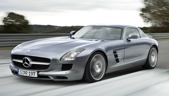 Mercedes-Benz SLS AMG Flagship Sports Car