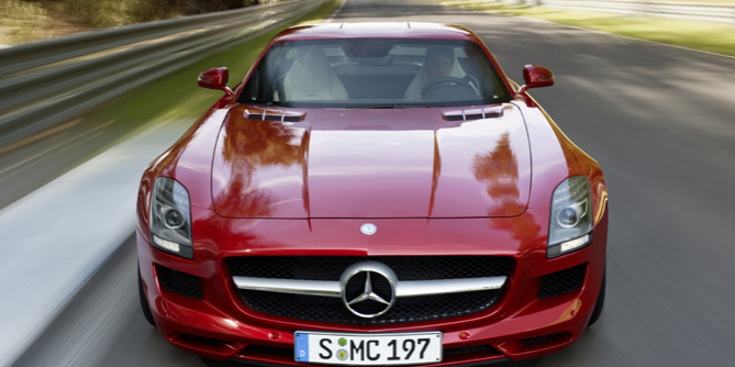 Mercedes-Benz SLS AMG GT Gullwing Coupe Feature More Power – 2013