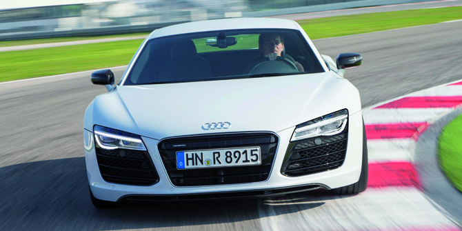 "Audi R8 scoops fourth successive ""Sporting Car of the Year Award"""