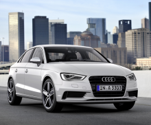 New Market for Audi A3 Sedan