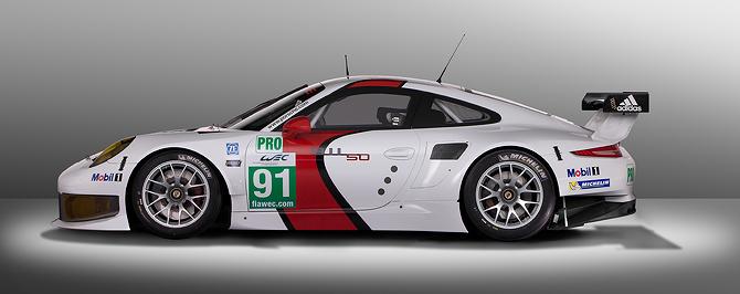 Unvailed - 2013 Porsche 911 RSR