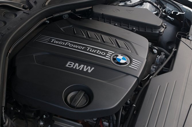 BMW 328d Sedan with Clean Diesel Technology