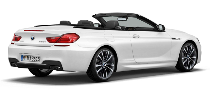 Set to debut in 2014 - BMW 6 Series Convertible Limited Edition