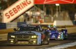 BMW Team at the American Le Mans Series At Sebring
