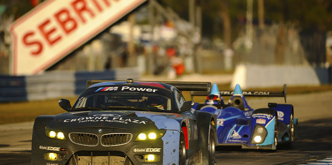 BMW Team at the American Le Mans Series At Sebring