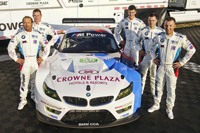 BMW Team prepairs for 2013