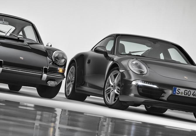 Classic Porsche over 50 years