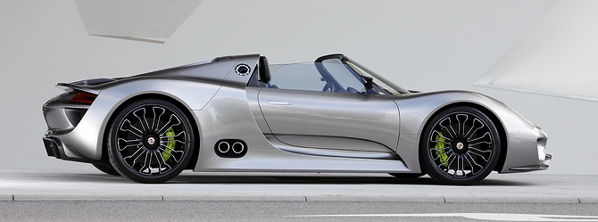 Ready for You: Porsche 918 Spyder Hybrid