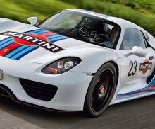 Porsche 918 Spyder Hybrid Video
