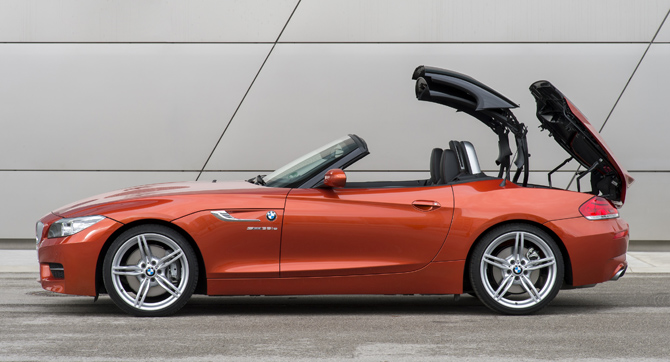 BMW Z4 Retractable Hard Top