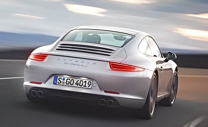 Porsche 911 Carrera S common view  for the rest of us