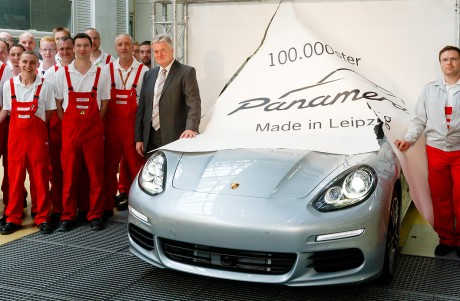 Porsche Panamera – 100,000th Panamera Leaves Porsche Factory