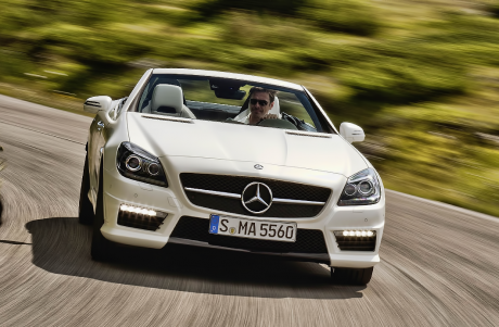 SLK AMG Test Drive Video Review – Autobahn Buzz