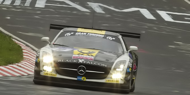 Black Falcon Team SLS AMG GT3 Wins Nurburgring