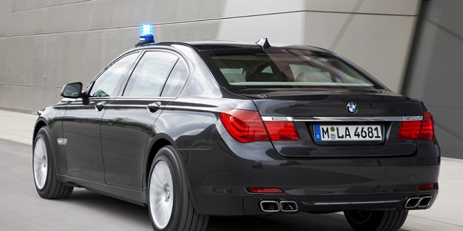 BMW 7 Series High Security Edition – Redefine Maximum Security/Safety