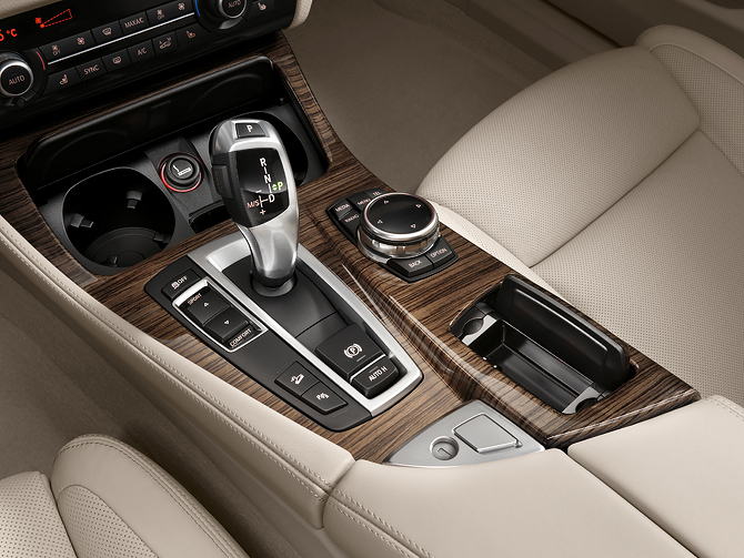 BMW 5 Series Eight Speed Shifter