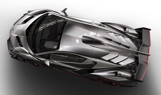 Lamborghini Veneno Design
