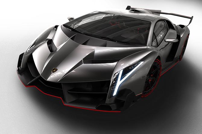 Lamborghini Veneno at Geneva Motor Show
