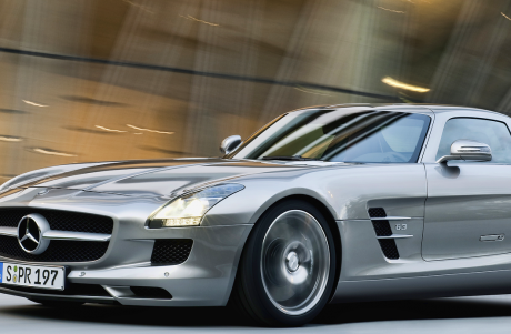 Mercedes-Benz AMG SLS GT Gullwing Coupe