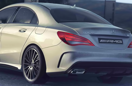 Mercedes-Benz CLA 45 AMG: CLA 45 AMG Scheduled for Geneva Auto Show