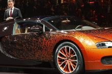 2013 Geneva Motor Show: Bugatti Veyron Roadster