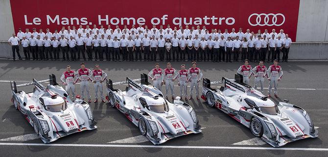 Team Audi R18