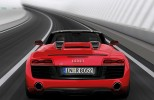 Audi R8 Spyder shown at the Geneva Motor Show