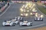 Audi R18 e-tron quattro Wins at 24 Hour of Le Mans