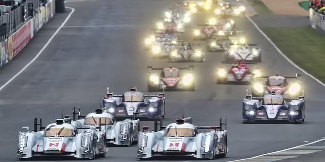 Audi R18 e-tron quattro Wins at 24 Hour of Le Mans