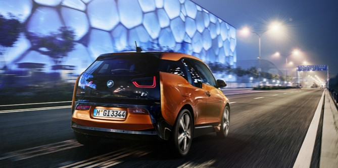 Worldwide launching of the all-new BMW i3