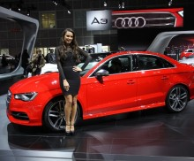 LA Auto show Audi A3 cover resized