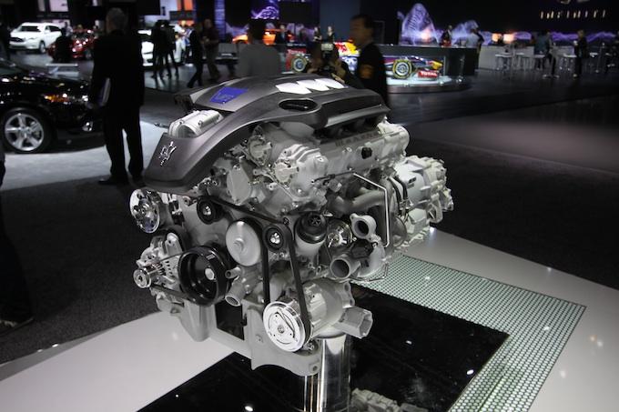 LA Auto show Maserati engine resized