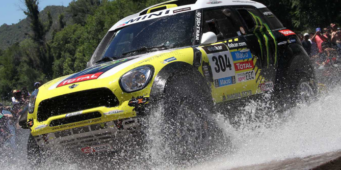 "MINI with Joan ""Nani"" Roma wins the 2014 Dakar Rally"