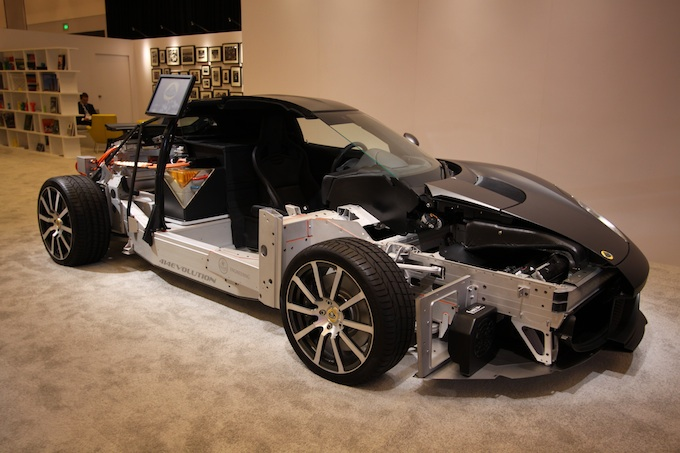 LA Auto show lotus chassis resized