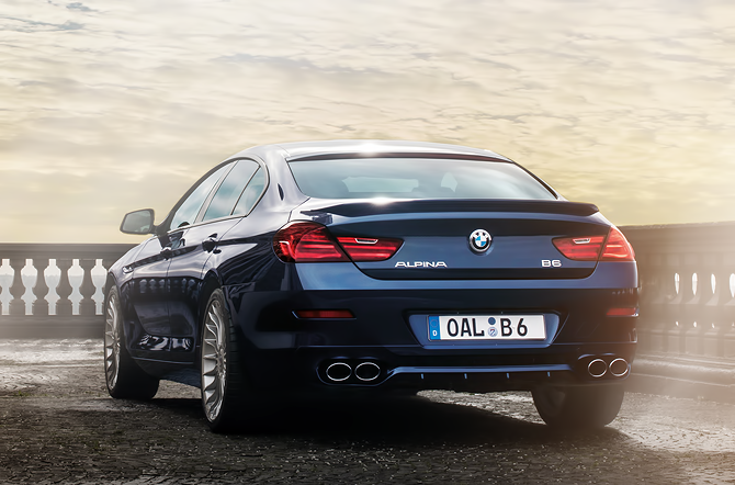 2015 BMW ALPINA B6 COUPE