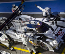 Prosche 919 Hybrid makes final prep for WEC