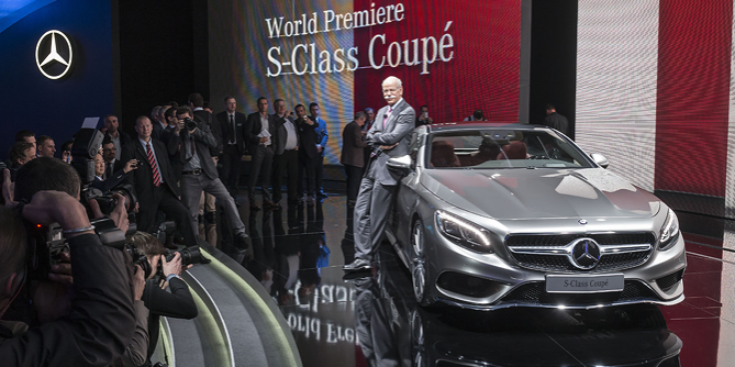 Mercedes-Benz S-Class Coupe Premieres at the Geneva Motor Show