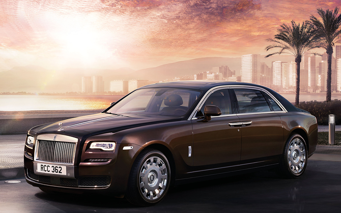 ROLLS-ROYCE GHOST SERIES II Revealed