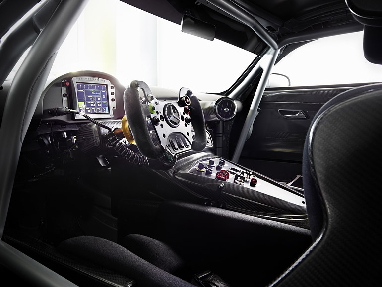 Cockpit Mercedes-Benz AMG GT3