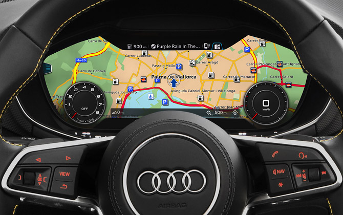 NEW DISPLAY audi tts roadster