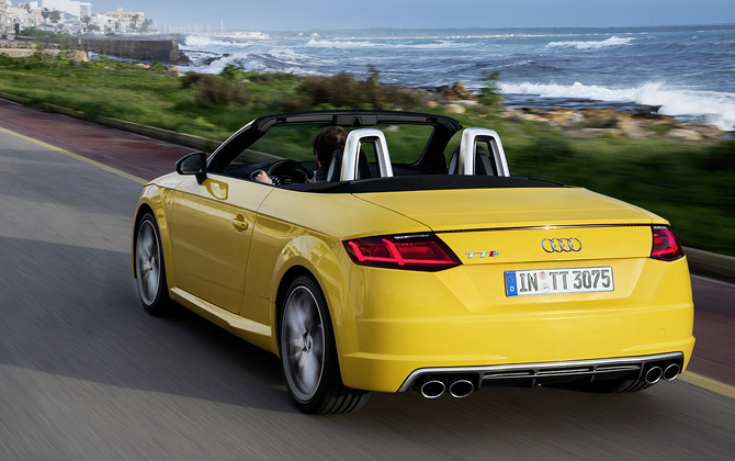 audi tts roadster DRIVE ALL DAY