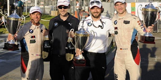 BMW Team RLL Win from pole position at Long Beach – Bill Auberlen and Dirk Werner find Victory with Team BMW!
